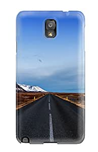 Kevin Charlie Albright's Shop New Style Hot Style Protective Case Cover For Galaxynote 3(landscape Road) 5564516K29341644