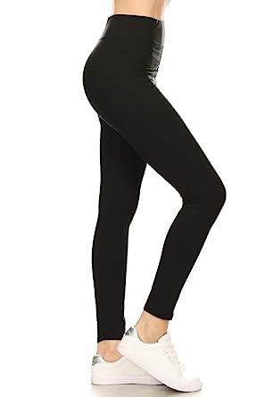 9e0da969c4a569 Leggings Depot High Waisted Leggings -Soft & Slim - 37+ Colors ...