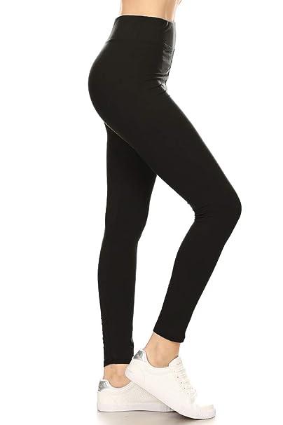 Black Gray Horse Unicorn Women/'s Leggings OS One Size 2-12 Super Soft