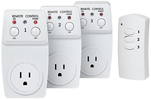 Casa EZ-Control Three Outlet Wireless Remote