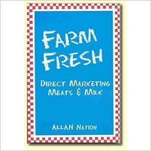 Farm Fresh: Direct Marketing, Meats & Milk