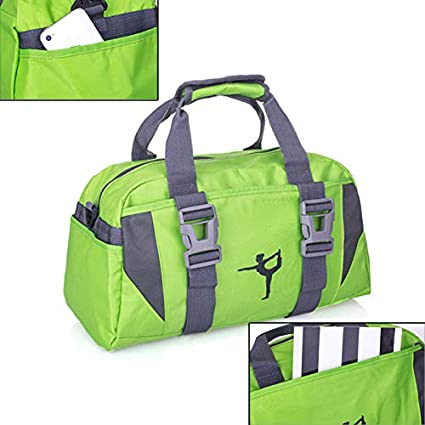 Amazon.com : Women & Men Sports Bag, Yoga Mat Carrier Wear ...