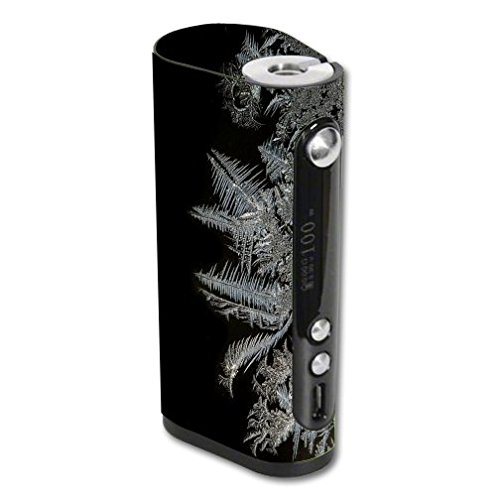 Decal Sticker Skin WRAP - Vape Forward Vapor Flask Stout 100W TC - Frost Freeze Design