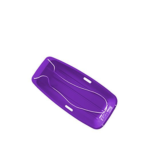 Superio 48 Long Kids Sled for Snow Purple