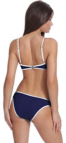 Verano Bikini Conjunto Push Up para mujer Wilma Navy