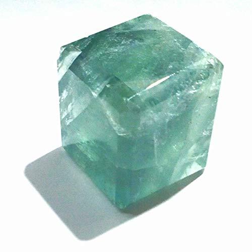 - asfak agate Green Fluorite Gemstone Cube Loose Gemstone