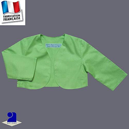 10 Mois Ans Baptême Taille Made Poussin 12 0 Anis Cérémonie France Couleur Mois In Court Boléro Cm Bleu 74 Rq0YnF8
