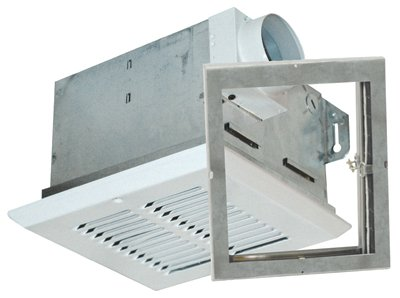 Air King FRAK50S Energy Star Qualified Fire-Rated Quiet Exhaust Bath Fan with 50-CFM and 0.5-Sones, White Finish