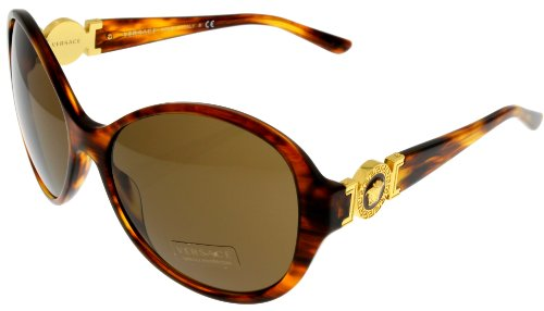 Versace Sunglasses Womens Havana 100% UV Protection VE4261 163/73