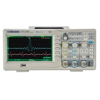 Siglent SDS 1102CML - Osciloscopio (pantalla de 7
