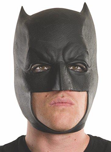 Rubie's Men's Batman v Superman: Dawn of Justice Batman Vinyl Mask, Multi, One -