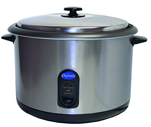 25 Cup Chefmate Counter-Top Rice Cooker or Warmer 1600w