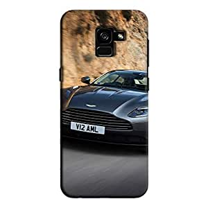 Cover It Up - AM DB11 Galaxy A8 Plus Hard Case
