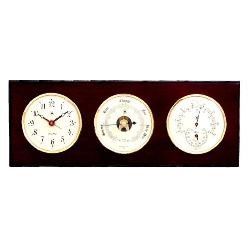 Manitou Weather Station Wall Clock by Bey-Berk