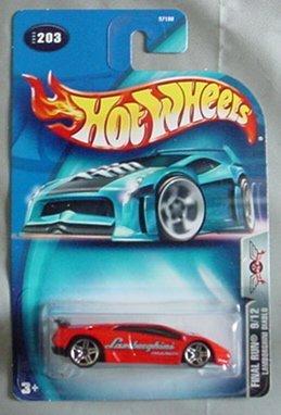 Hot Wheels 2003 Lamborghini Diablo Final Run 9 12 203 Red 1 64