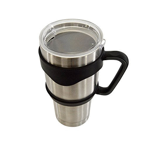 Tumbler Handle,  Handle for 30 oz Tumblers - Universally Fits All Brands, For YETI RTIC OZARK MAGNUM