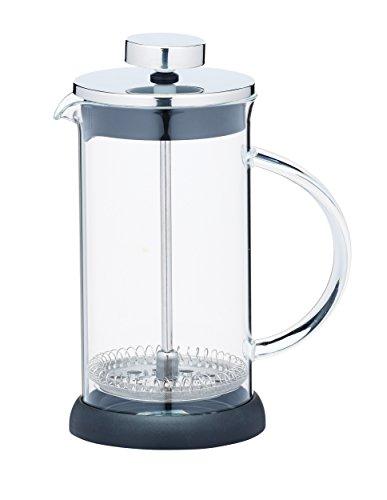 Kitchen Craft 350 ml de cristal/acero inoxidable le ' Xpress 3-tazas, translúcido