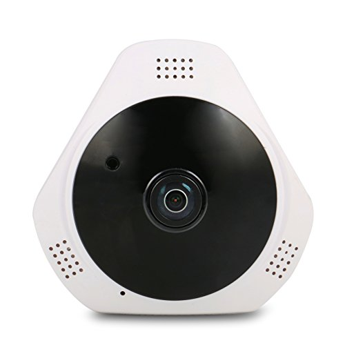 Be with Your Loved Ones While You're Away and Ensure Their Safety with Wide Angle CCTV Wi-Fi Camera Built in Audio Receptor Motion Sensor Night Vision Remote Access & More (Receptor De Audio Y Video)