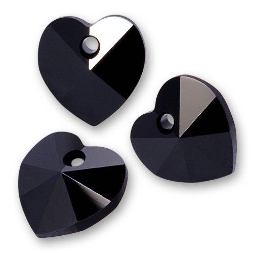 Swarovski Crystal #6202 10mm Heart Pendant