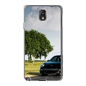New Fashion Premium Tpu Case Cover For Galaxy Note3 - Porsche Turbo 997