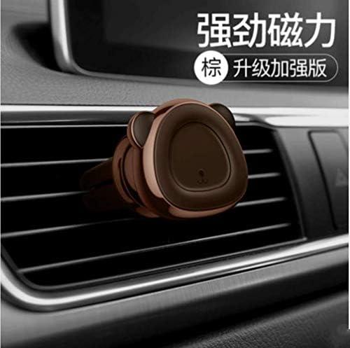 磁気空気出口自動車電話ホルダー支持ブラケットバックル型車載携帯電話