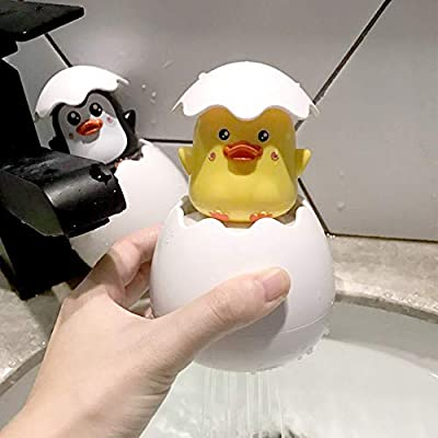 Jullynice Baby Bathing Toy Duck Penguin Egg Water Spray Sprinkler Bathroom Sprinkling Shower Swimming Water Toys Kids Gift: Home & Kitchen