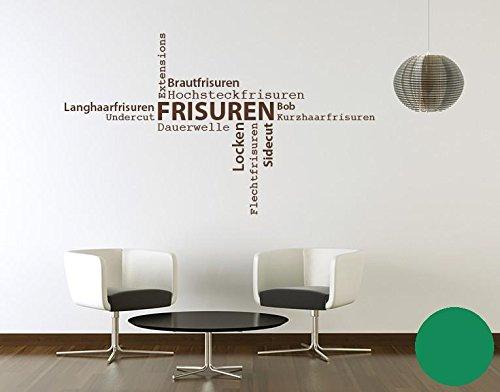 Klebefieber Wandtattoo Frisuren B x H  130cm x 76cm Farbe  Dunkelgrau B072F3PN4W Wandtattoos & Wandbilder