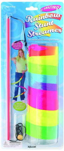 stem gifts for 5 year olds Toysmith Rainbow Stunt Streamer