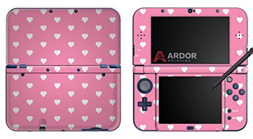 pink-pastel-hearts-pattern-nintendo-3ds-xl-skin-decal