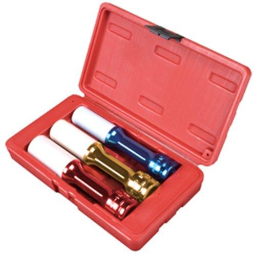 Service Socket Set (Sunex 2843 1/2-Inch Drive 150mm Wheel Protector Socket Set, 3 Piece)