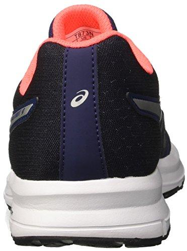 de Mujer Running Asics 4993 Indigo Coral Flash para Silver Azul Zapatillas 9 Blue Patriot BawRAt