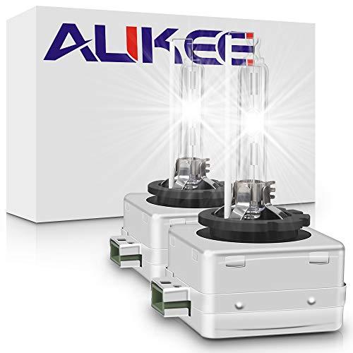 Aukee D3S HID Bulb 35W 12V Xenon Replacement Headlights Bulbs Cool White 6000K - (A Pair)