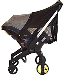 Additional protective layer provides enhanced UV protection (UPF 50+) Two zippers enable simple access to your baby Adjustable connectors for use in various sunlight conditions Easy snap on attachment Complimentary carry bag included Easy to ...
