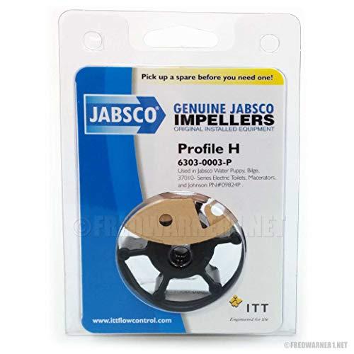 """Jabsco Impeller Kit - 6 Blade - Nitrile - 2"""" Diameter"""