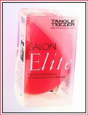 Tangle Teezer Salon Elite Professional Detangling Brush ~ Pink ~ Made in England