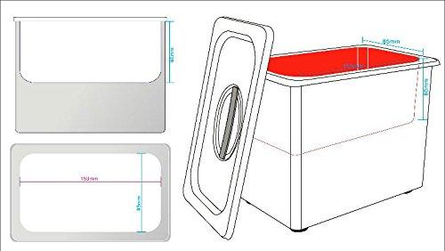 Biwond - Limpia metales ultrasonido industrial 60w dadi-8060: Amazon.es: Bricolaje y herramientas
