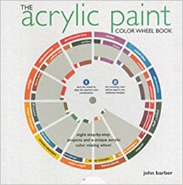 The Acrylic Paint Colorwheel Book Eight Step By Step Projects And A