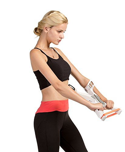 Arm Workout Machine,Arm Upper Exerciser Force Fitness Equipment with System 3 Resistance Training Bands for Women