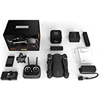GDU - BYRD Premium 1.0 Drone (Portable Full Folding, 1km HD Video Transmission, 4k Camera, Automatic Return, Fully Stabilized 3-Axis Gimbal, Smart Follow)