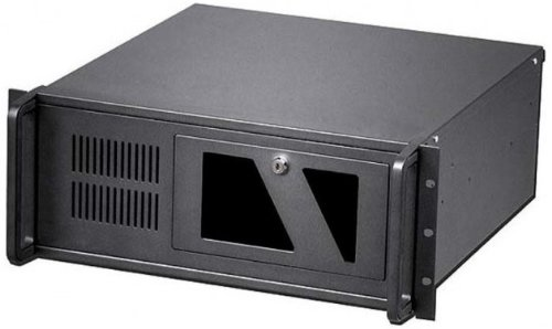 TECHly 19'' 4U Industrial Rack-Mount Chassis ATX Black