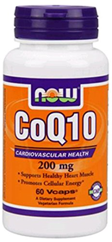 NOW Foods CoQ10 200 мг, 60 Vcaps