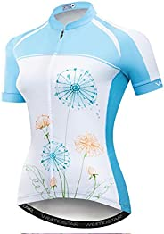 Women's Cycling Jersey Summer Short Sleeve Bike Jersey Bicycle Clothing MTB Biking Shirts