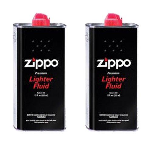 Zippo オイル缶 【大缶・355ml】 2本セット