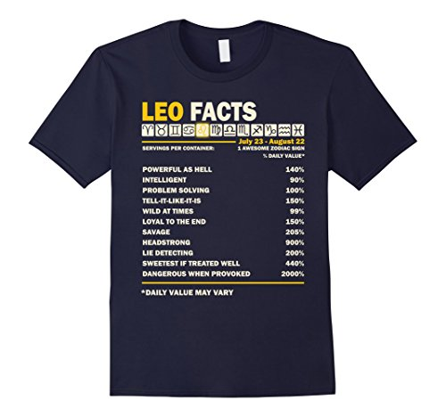 Men's Leo Facts T