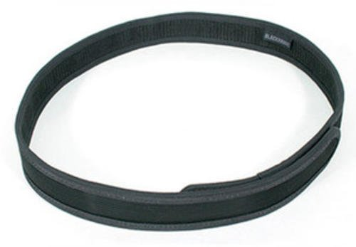 Blackhawk 44B1LGBK Hook & Loop Trouser Belt, Black ()
