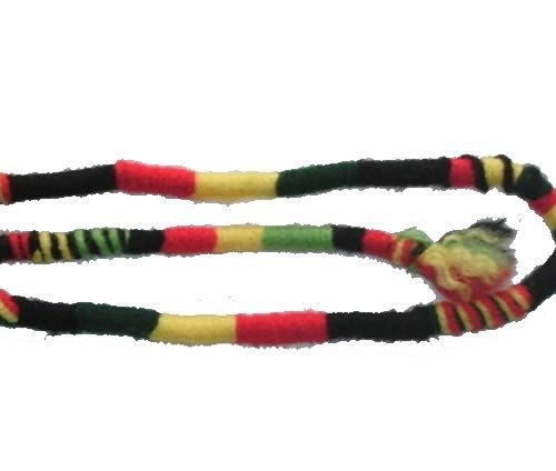 llow, Green, Black - Hippie Hair Extension, Qty: 1 Dreadlocks Accessory, Dread Wrap, Hair Fall, Hair Wrap, Colorful Accessories for Dreads, Braids, Curls ()