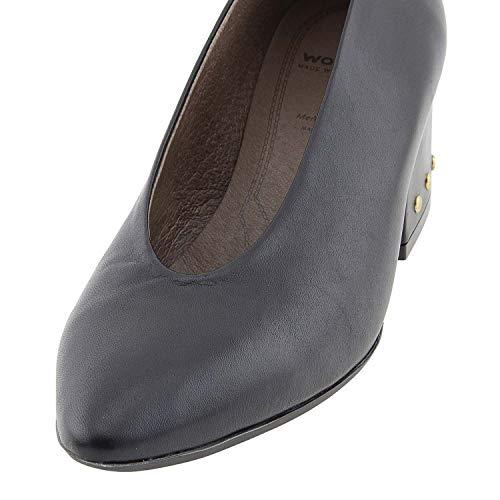 Cuir M Wonders 7204 En Noir Chaussures Tfqgy7wqHp