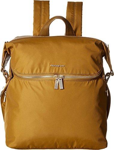 Hedgren Women's Paragon Medium Backpack Golden Olive Backpack [並行輸入品]   B07K18WDRC