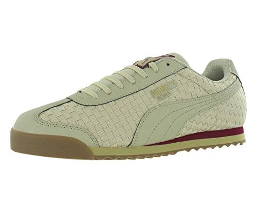 (PUMA Men's Roma Weave Sneaker, Beige, 12)