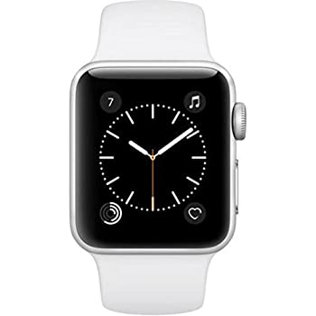 amazon com apple series 2 watch for iphone 42mm space gray